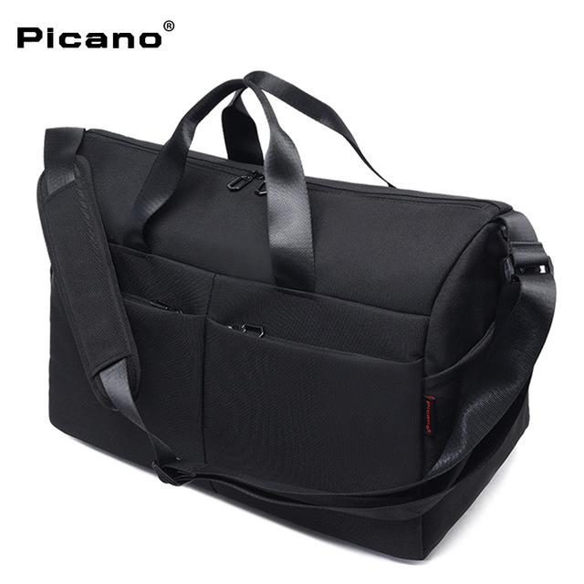 PICANO Túi xách du lịch mới ngoài trời khoảng cách ngắn công suất lớn túi đeo vai giải trí xách tay