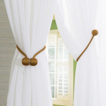 LIANBULIANJIA Dây cột rèm  Rèm dây hiện đại tối giản Sáng tạo nam châm rèm khóa móc treo tường móc d
