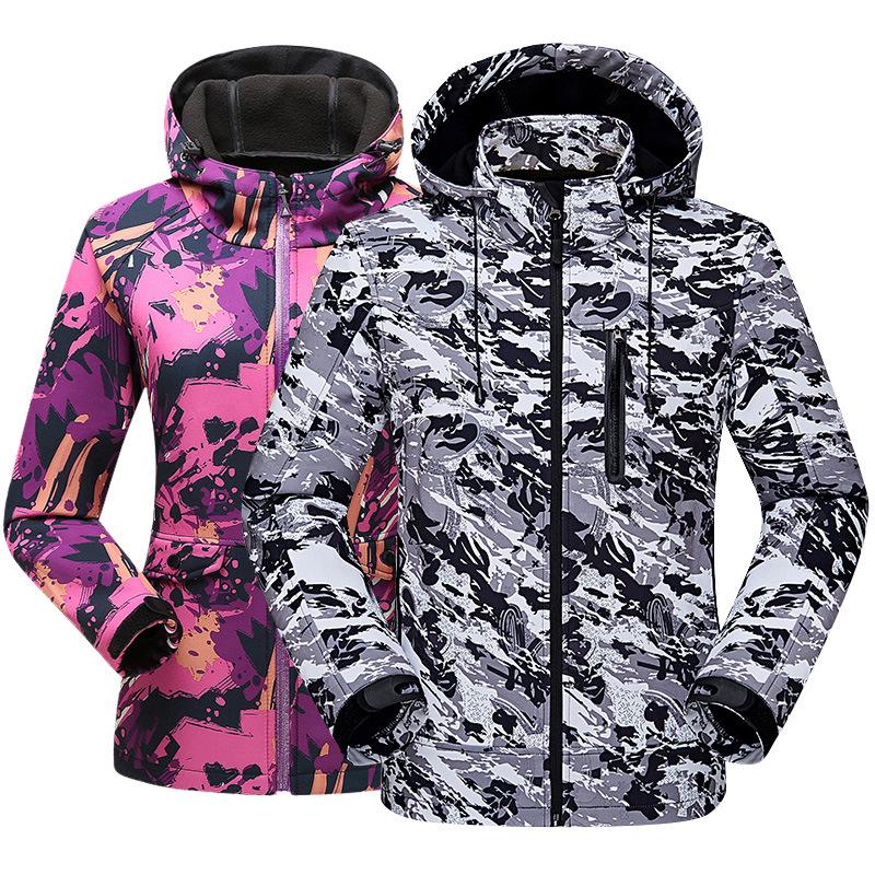 chenai Áo nguỵ trang lính Quần áo ngụy trang mới chất béo và phân bón cộng với tăng vài mẫu áo khoác