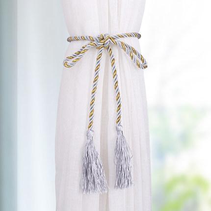 LIANBULIANJIA Dây cột rèm  Rèm cửa hiện đại tối giản dệt tay tua rua treo tai rèm khóa rèm dây dây đ