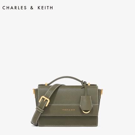 CHARLES & KEITH  Túi xách nữ thời trang  Gói đu dây CHARLES & KEITH CK2-50780732 Châu Âu và Mỹ nắp g
