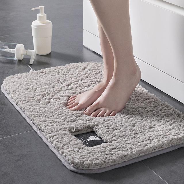 MINGSHENG Đệm chân Thảm sàn sang trọng phòng ngủ nhà bếp phòng khách thảm phòng tắm cửa trượt chống