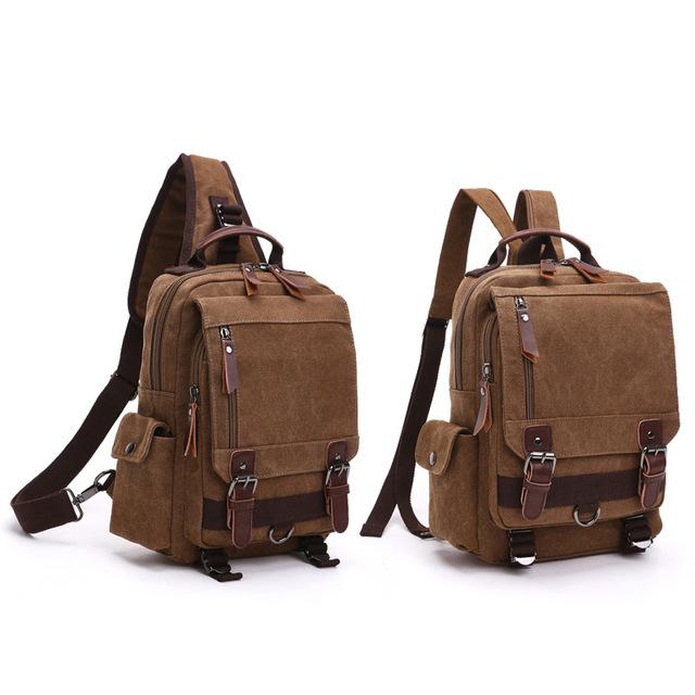 ZUOLUNDUO Thương gia có thực lực Cross-Border new ba lô Thời trang vải du lịch ngoài trời túi đeo ch