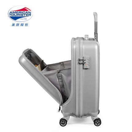 AMERICAN TOURISTER  VaLi hành lý Du lịch Hoa Kỳ Mini Board Khung xe đẩy nhỏ nhẹ Trường hợp thuyền tr