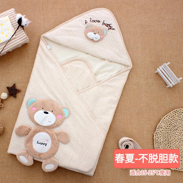 khăn bông quấn giữ ấm cho trẻ sơ sinh .