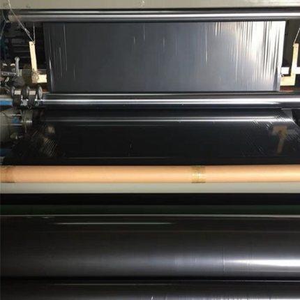 ZONGZHU Màng che phủ nhà kính Phim nhựa đen màng nhựa dày màng đen phim đen phim nông nghiệp màng nh