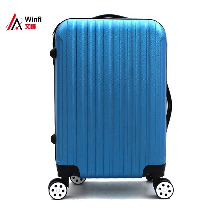 WENFENG thị trường túi - Vali Xe đẩy vali nguồn vali nhà sản xuất nguồn ABS LOGO thiết lập để làm dâ