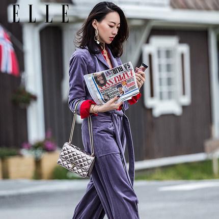 ELLE thị trường túi - Vali  Túi xách ELLE 2019 mới Messenger túi 92113 thời trang nhỏ nước hoa hình