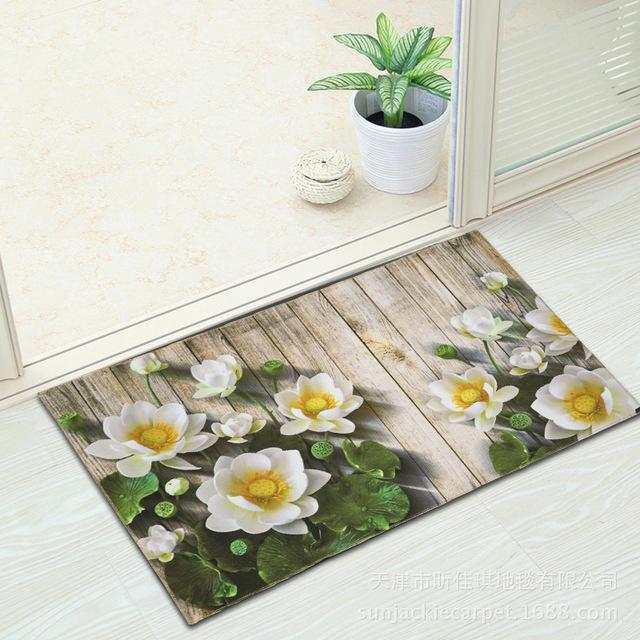 XINJIAIQ Đệm chân Túi giúp sàn nhà mat cửa mat nhà sản xuất bán buôn hiên nhà bếp mat phòng tắm thấm