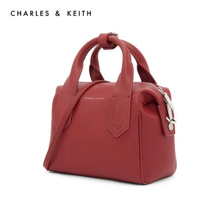 CHARLES & KEITH  Túi xách nữ thời trang  Túi xách CHARLES & KEITH CK2-50150617 túi đeo vai mùa thu v