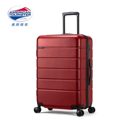 AMERICAN TOURISTER  VaLi hành lý Trường hợp xe đẩy du lịch Mỹ nữ 21 inch có thể lên vali thời trang