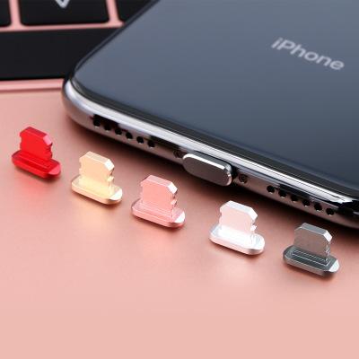 YUANYISHANGPING Nút cắm chống bụi Áp dụng Apple x bụi cắm iphone x kim loại xs max điện thoại di độn