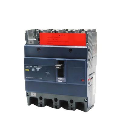 Schneider Electric Cầu dao CB Schneider Vỏ nhựa Máy cắt mạch EZD Ba pha bốn dây 380v Bảo vệ 3p4p Vỏ