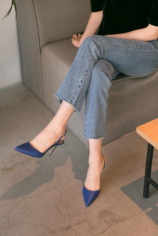 YANZHUIXING Thị trường giày nữ 2020 đôi sandal nữ cổ tích mới giày cao gót đế xuồng chỉ với thời tra