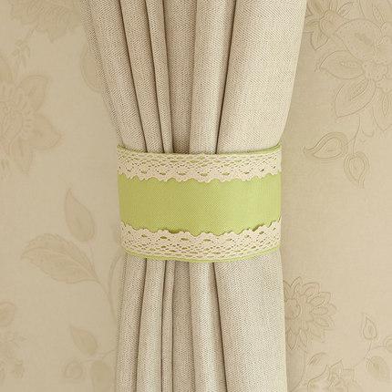 LIANBULIANJIA Dây cột rèm  Handmade ren dây đai buộc dây hiện đại tối giản Velcro rèm khóa dây đai t