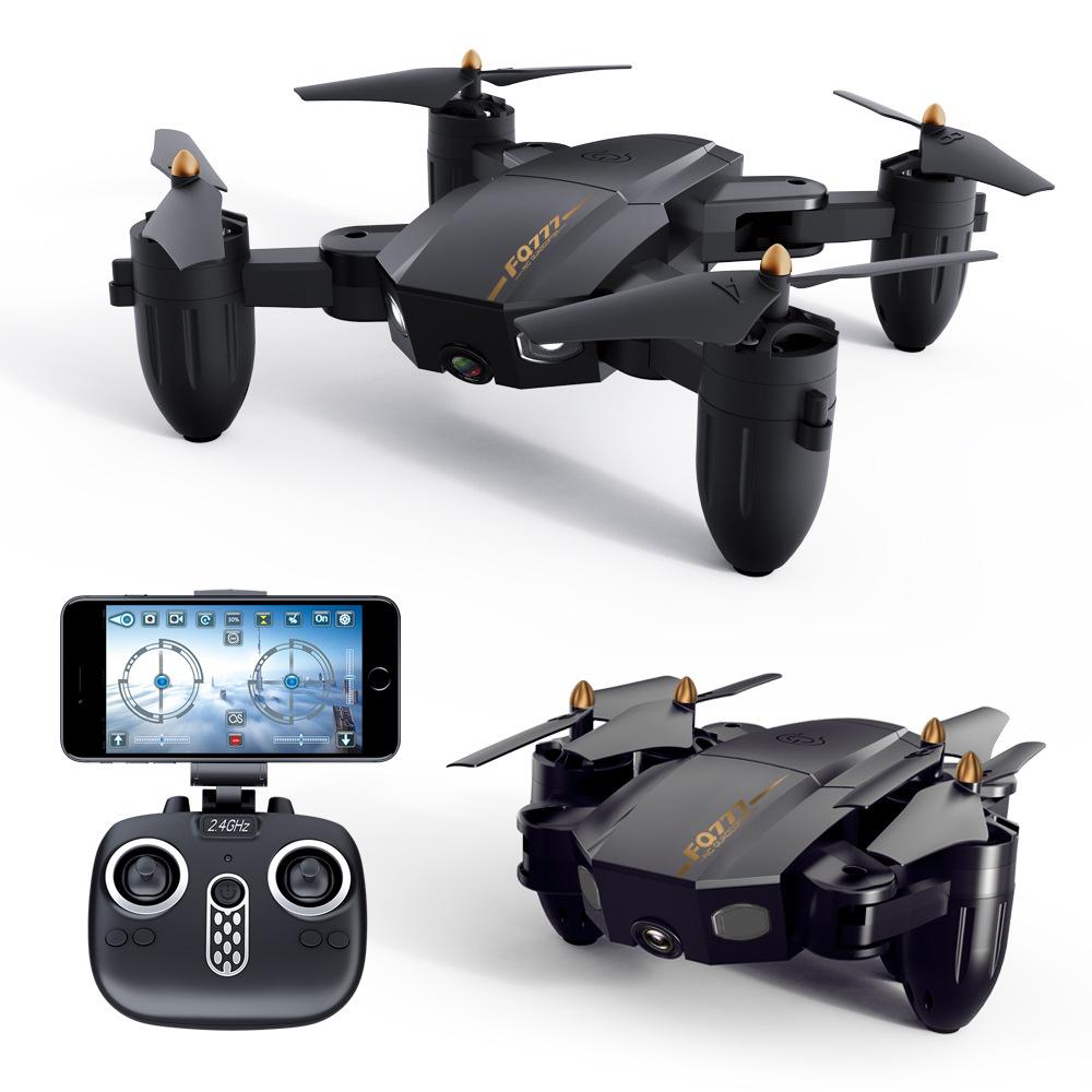 Máy bay Flycam gấp FQ777 FQ36 chụp ảnh trên không kết nối WIFI
