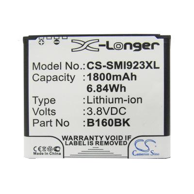 CameronSino Pin điện thoại Camera quay phim cho pin điện thoại di động Samsung GT-I9230 B160BK / B16