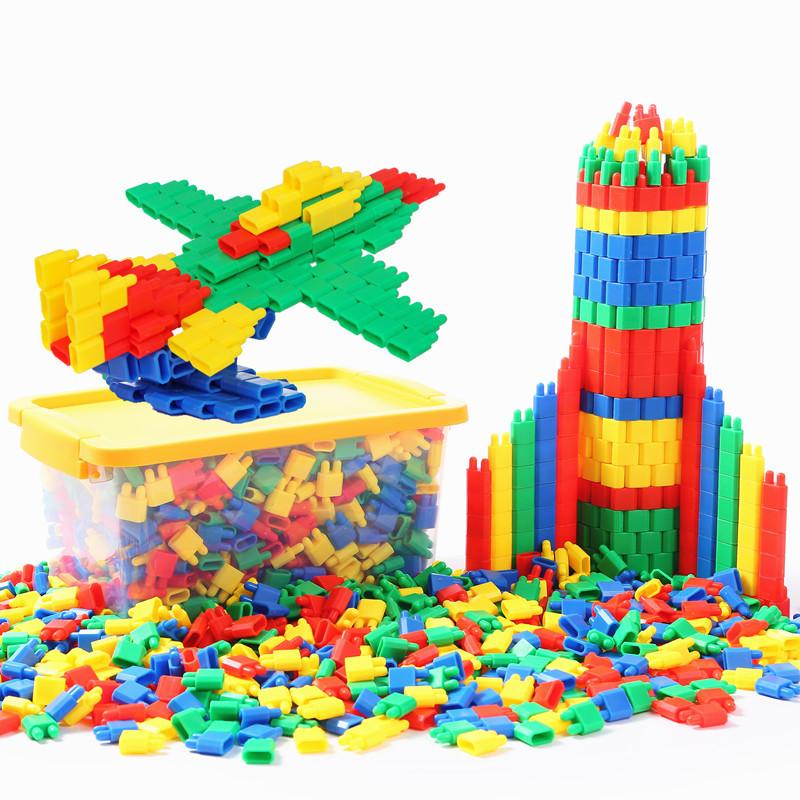 Đồ chơi lắp ráp khối xây dựng phát triển trí thông minh cho bé .