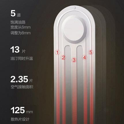 GREE Bình nóng lạnh Gree nóng nhà tiết kiệm năng lượng điện sưởi ấm phòng ngủ phòng khách phụ nữ man