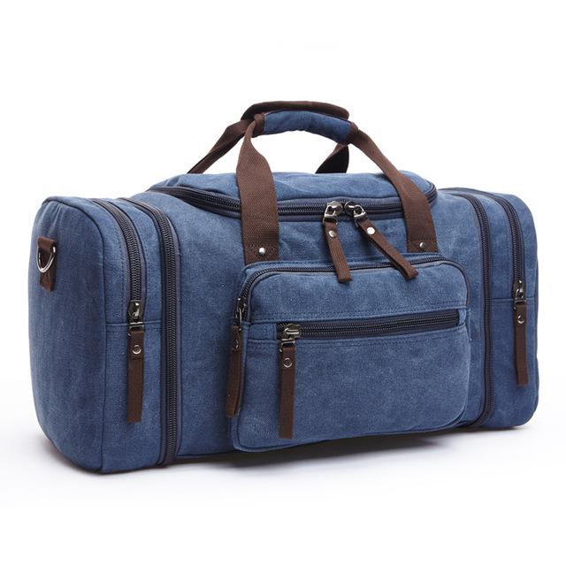 ZUOLUNDUO Xuyên biên giới thời trang mới túi du lịch ngoài trời vải xách tay Xu hướng túi xách công