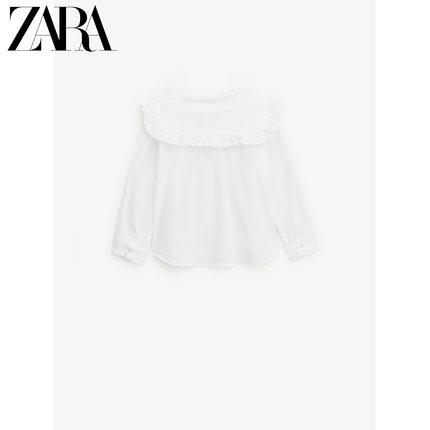 ZARA Áo Sơ-mi trẻ em  ZARA quần áo trẻ em gái mới áo sơ mi tròn ve áo 06353283250