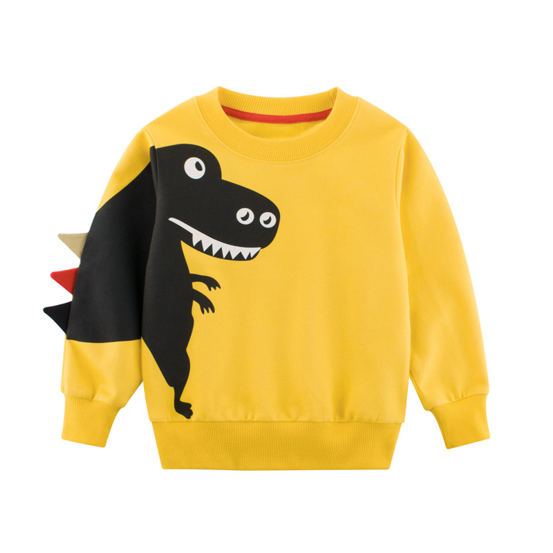 27KIDS Sweater (Áo nỉ chui đầu) Quần áo trẻ em Hàn Quốc 2019 mùa thu quần áo trẻ em mới