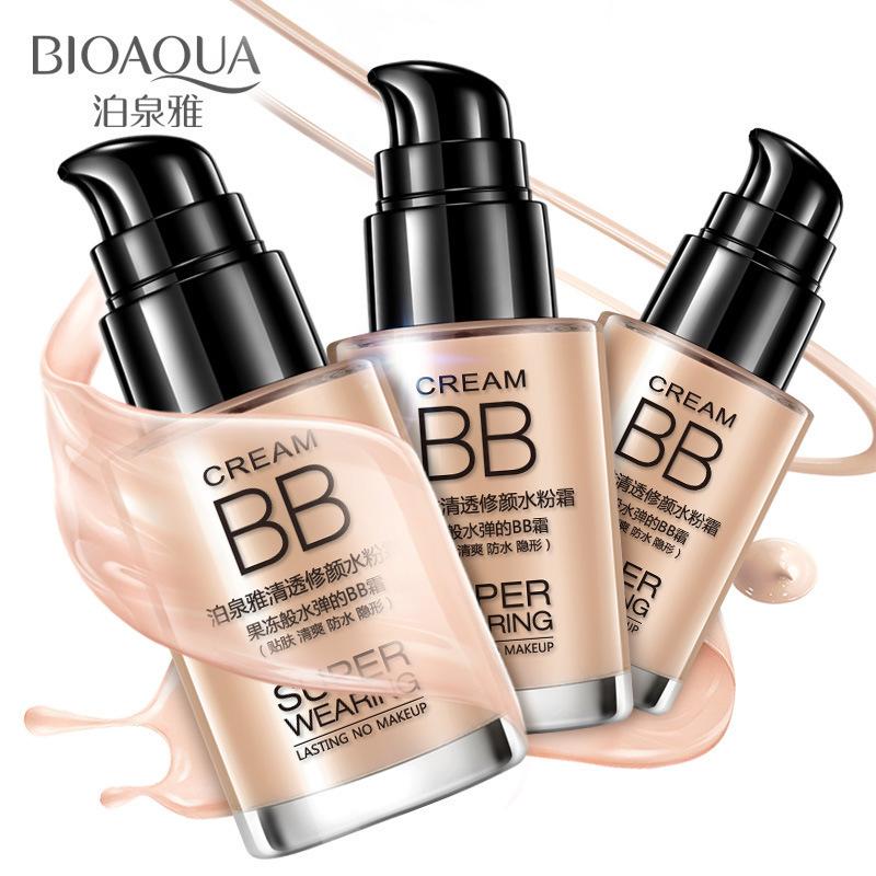 Mỹ phẩm trang điểm BB cream liquid Foundation