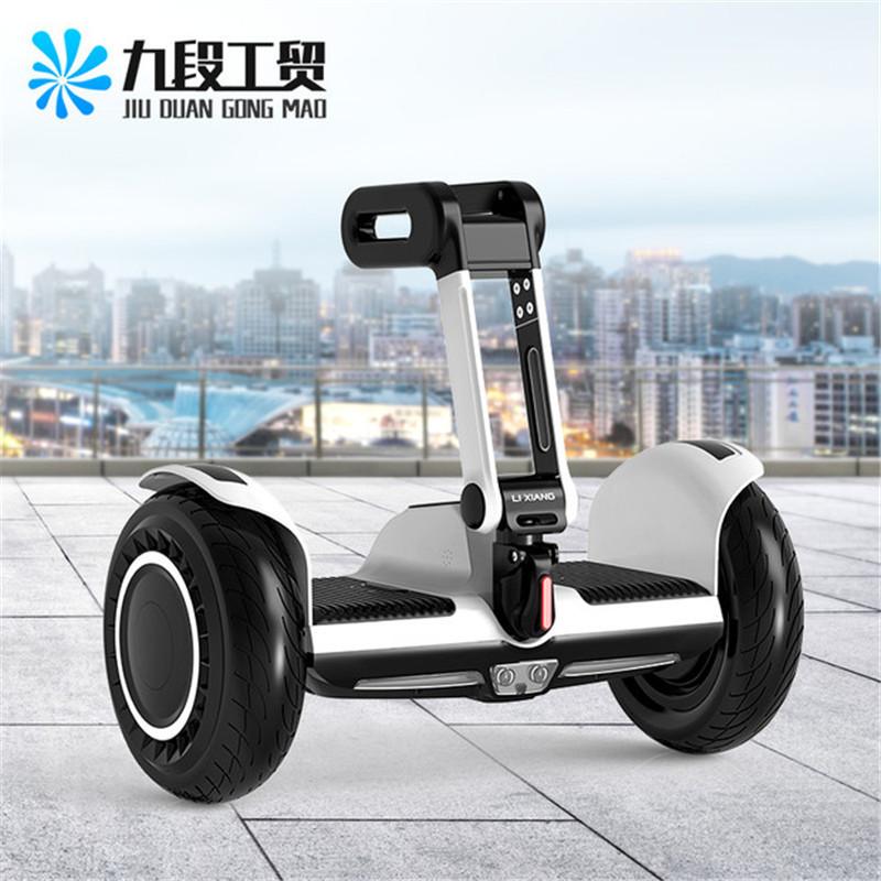 Xe điện 2 bánh tự cân bằng Mới 10 inch có cần điều khiển .