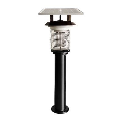 kunzhong Đèn diệt muỗi LED ngoài trời diệt muỗi vườn cỏ điện giật loại năng lượng mặt trời công suất