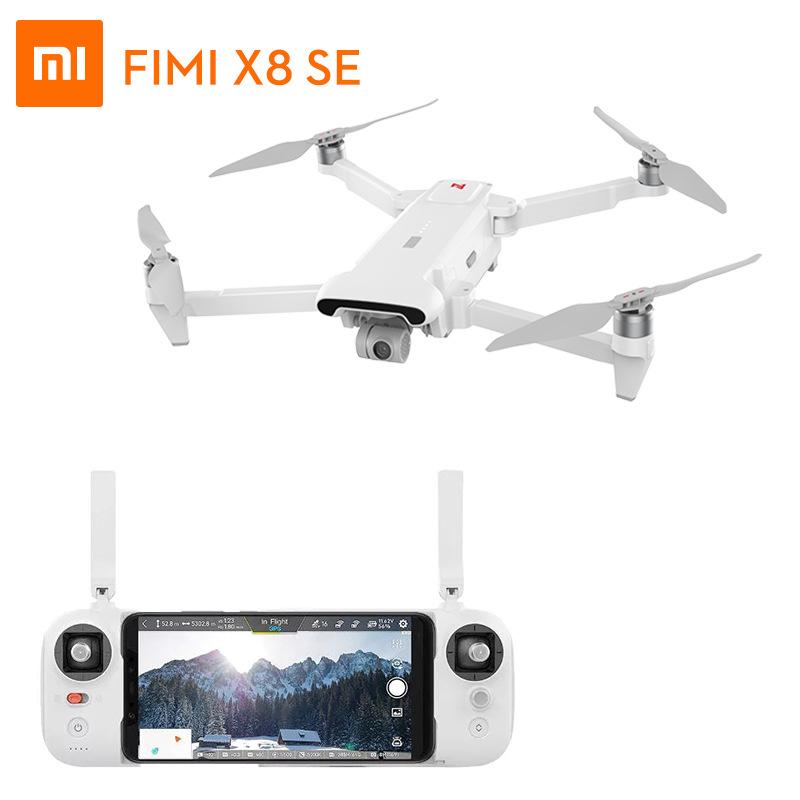 Flycam Máy kê điểm FIMI X8 SE bay không người lái 4K camera 3 trục PTZ máy bay điều khiển từ xa chuy