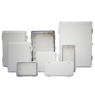 ZIXI ELECTRICAL Hộp phân phối điện Hộp nối chống nước Hộp nhựa phân phối kín IP66 với khung cửa mở b