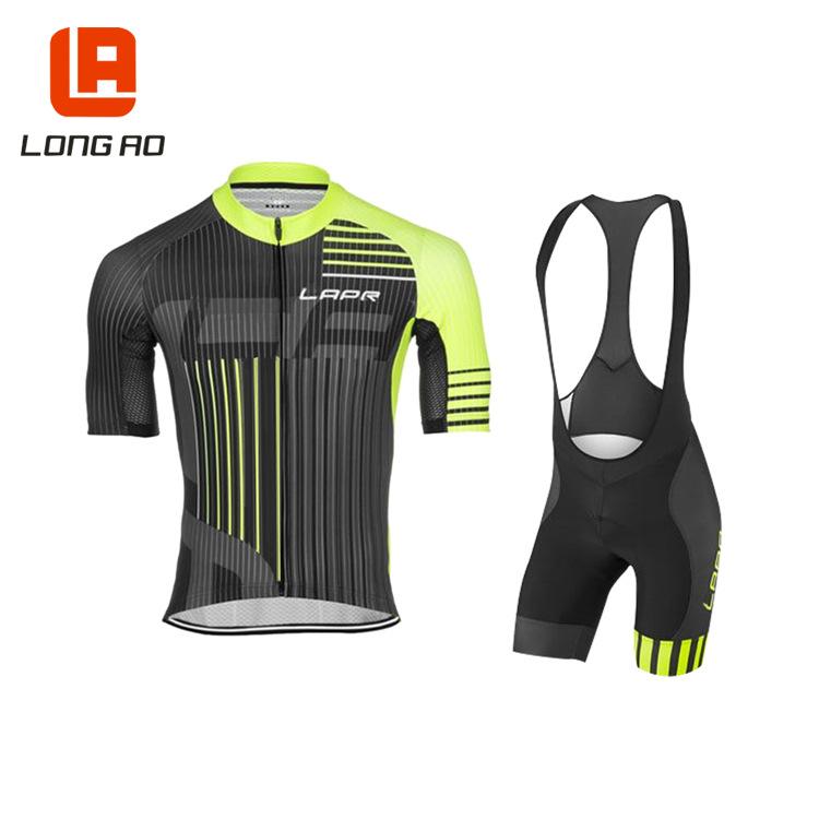 LONG AO Quần áo mau khô Mùa hè nhanh chóng làm khô xe đạp hấp thụ độ ẩm đi xe đạp tay ngắn phù hợp v