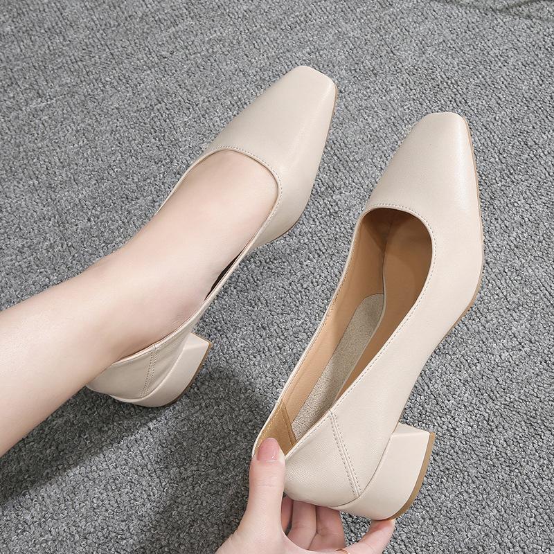 LVTI Thị trường giày nữ Mùa xuân 2020 phiên bản mới của Hàn Quốc của giày nữ hoang dã Giày phẳng nữ