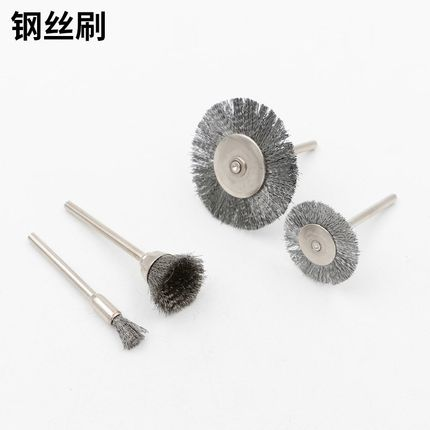 DONGCHENG Dây kim loại  Dây thép công nghiệp 6 mm-38mm Bàn chải giải phóng mặt bằng kim loại 22mm