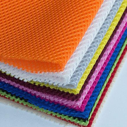 CRYSTAL SHINE RED Vải lưới Ba lớp lưới bánh sandwich vải lưới lưới vải ghế ô tô bọc vải 3d thoáng kh