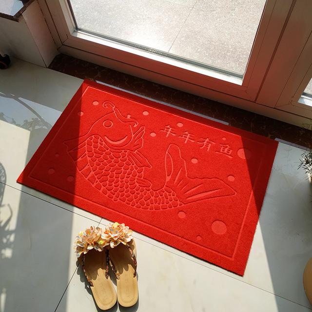 XINDECHENG Đệm chân Túi giúp thảm trải sàn nhà cửa thảm phòng tắm chống trượt thấm nước hộ gia đình