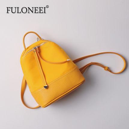 FULONEEI  Vải Nylon  Furoni 2018 mới túi đeo vai nữ nylon không thấm nước túi vải Oxford phiên bản H