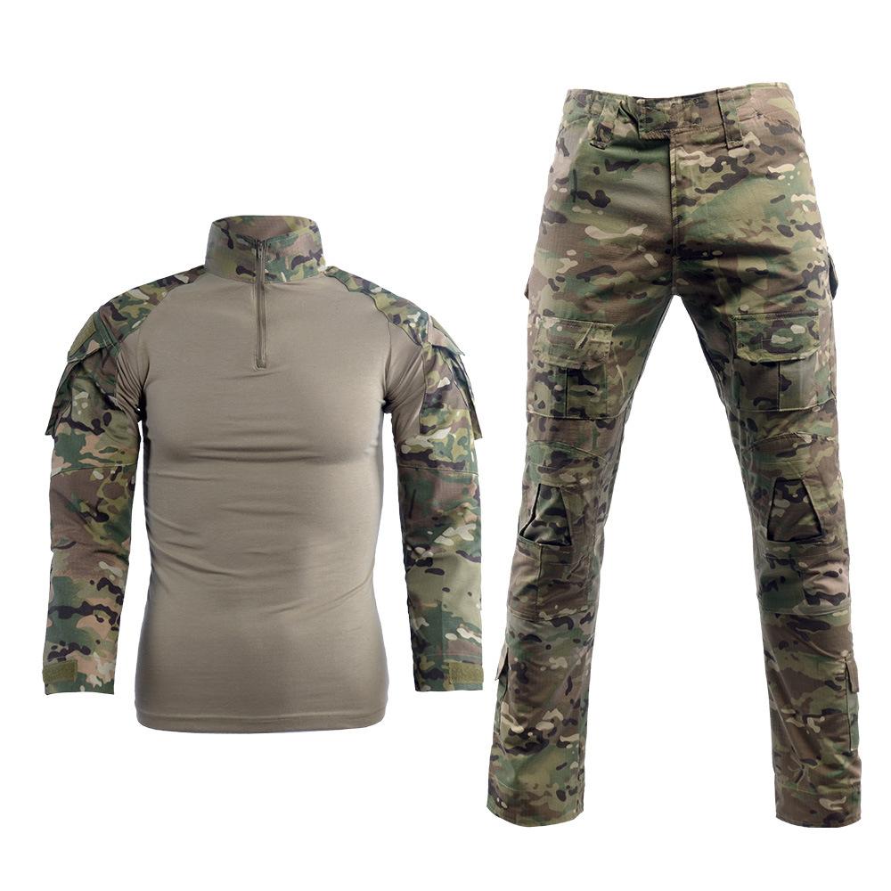 5·56 Áo nguỵ trang lính Suit jacket quần ngoài trời mở rộng CS quân đội ngụy trang quân đội Mỹ phù h