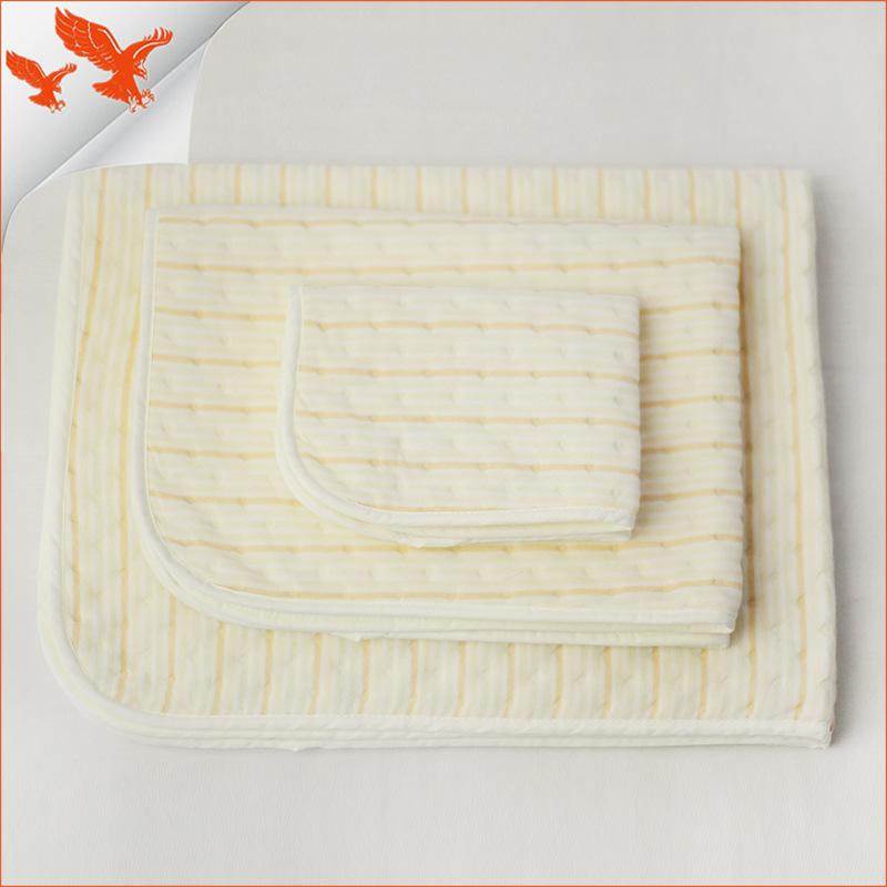 SHAUNGYIONG Tấm lót chống thấm cotton màu cho bé
