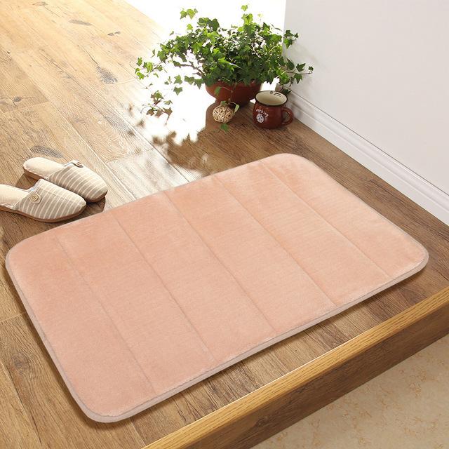 XINYANG Đệm chân Túi giúp, phục hồi chậm, chống trượt, thảm phòng tắm thấm nước, thảm cửa dày, thảm
