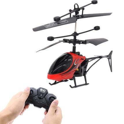 NUKied - Đồ chơi máy bay trực thăng cảm ứng treo điều khiển từ xa .