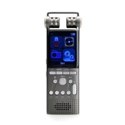 SAVETEK Máy ghi âm Máy ghi âm giảm tiếng ồn chuyên nghiệp Ghi âm điều khiển bằng giọng nói Ghi âm th