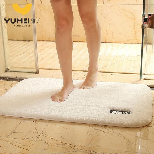Dada Đệm chân phòng tắm sang trọng chống trượt sàn mat thấm phòng ngủ cửa mat thảm mềm bán buôn hộ g