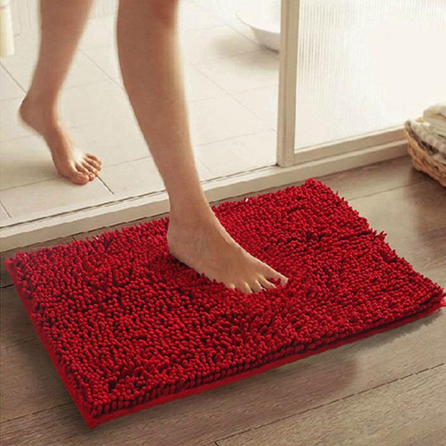 DONGHAI Đệm chân Nhà sản xuất bán buôn chenille phòng ngủ nhà bếp phòng khách thảm phòng tắm chống t