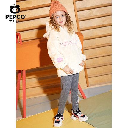 PEPCO  Quần trẻ em  Piglet Banner quần áo trẻ em cô gái cộng với quần legging nhung mùa thu đông 201