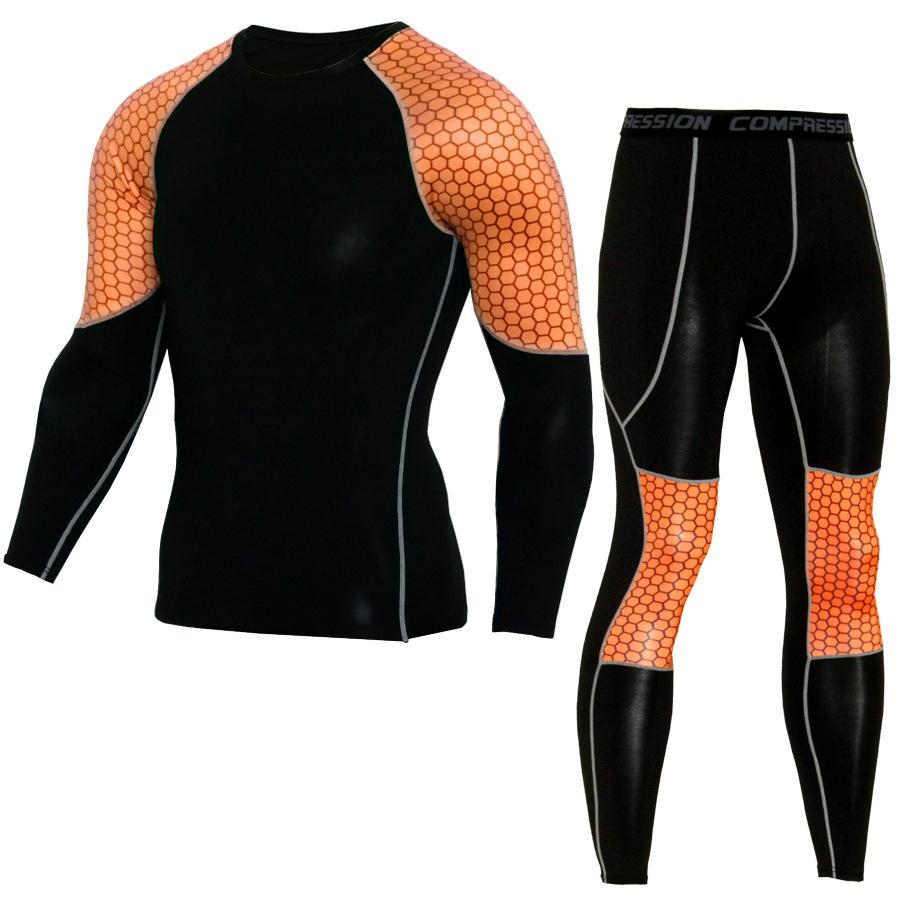 JACK CORDEE Quần áo mau khô Quần thể thao nam phù hợp với quần dài tay thoáng khí và nhanh khô quần