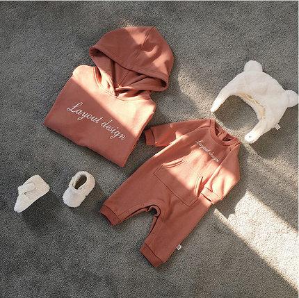 amica Áo thun gia đình 2019 quần áo mới cha mẹ trẻ em quần áo mùa thu quần áo leo núi mẹ và con mẹ g