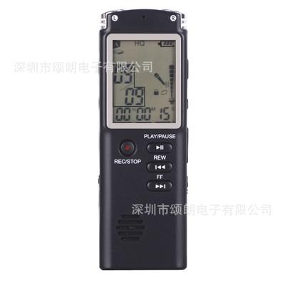 ZHONGXING Máy ghi âm Nhà máy sản xuất bút ghi âm chuyên nghiệp T60 32G màn hình lớn Giảm tiếng ồn HD