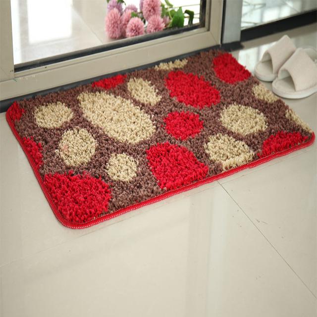Đệm chân Elbow sợi thảm sàn thảm mat cửa phòng tắm mat