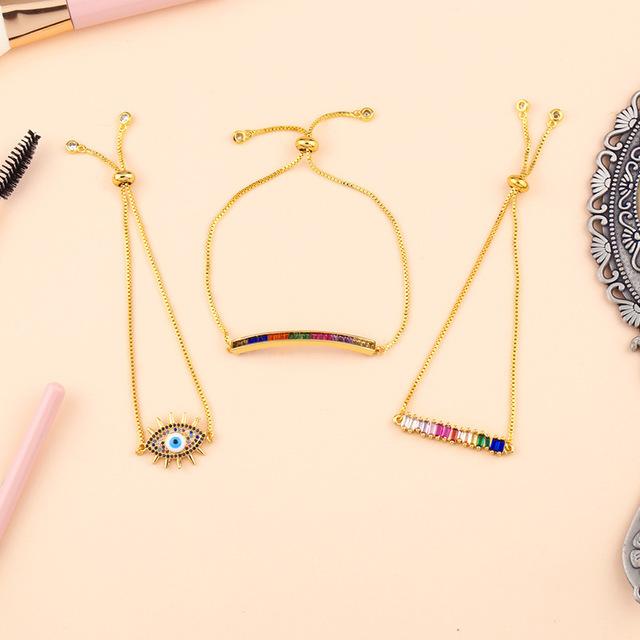 AOSHENG Phụ kiện thời trang Túi tóc giúp thời trang châu Âu và Mỹ mới tinh tế, dát zircon kéo vòng t